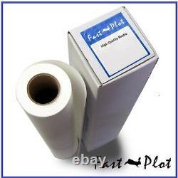 Self Adhesive Poly-Vinyl Banner roll Waterproof 24 x100FT -Inkjet printing