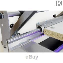 Siebdruckmaschine mit UV Belichtungsgerät mit Starter Kit Siebdruck maschine