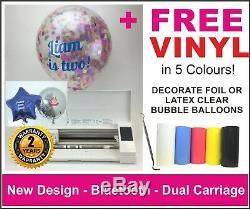 Silhouette Cameo 3 Plotter/Cutter. UK Supplier, 2 Years Warranty. 5 x FREE VINYL