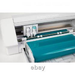 Silhouette Cameo 4 White UK plug and 3 year warranty Cutting Machine