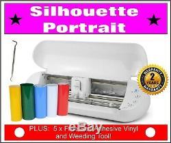 Silhouette Portrait 2, Cutter, Monogram, Initials, 2 Years Warranty. FREE VINYL