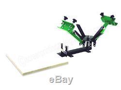 Silk Screen Printing Press 2 color / 1station NEW