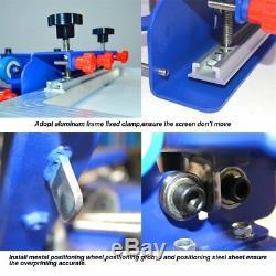 Silk Screen Printing Start Hobby Kit 4 Color press & Drying Cabinet &UV exposure