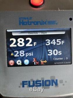 Stahls Hotronix Air Fusion IQ Heat Press 16x20 Swing-Away 2012