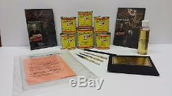 Steve Kafka Pinstriping kit ADVANCED paint brush DVD