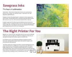 Sublimation Printer Sawgrass SG500 Virtuoso + CMYK Kit + Design Studio Free Ship