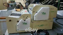 Sun Hs 2000 A & B Card Slitter, 4 Up & 12 Up Business Card Slitter Great Cond