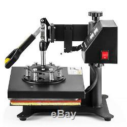 T-Shirt Heat Press Digital Transfer Machine 12 x 10 Sublimation Swing Away