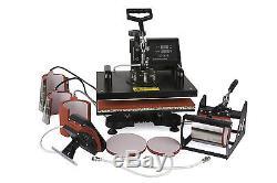 ToWorldwide 9 In 1 Heat Press Machine Digital Tshirt Printing Machine, Heat Press