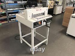 Triumph 3915-95 Semi-Automatic Ream Paper Cutter 15-3/8 Serviced & Tested