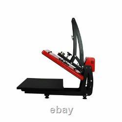 USA 16 x 20 ClamShell Auto Open Heat Press Machine Vertical Version Slide Out