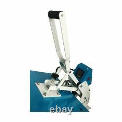 USA 16 x 20 Clamshell Auto Open t Shirt Heat Press Machine Horizontal Version