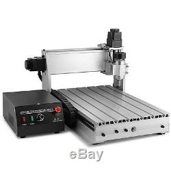 USB 4 Axis 400W 3040T CNC Router 3D Engraver Engraving Drilling Milling Machine