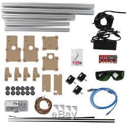 USB CNC Laser Engraving Metal Marking Machine Wood Cutter 48.5x52.6cm DIY inm