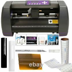 USCutter 14 Craft Vinyl Cutter MH Bundle Sign Making Kit withDesign/Cut Softwar