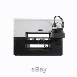 UV Printer A3 Flatbed DTG Cylindrical Signs 3D Glass Metal Rotation Embossed