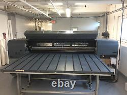 Used HP Scitex FB700 Printer 98.4 UV Curable