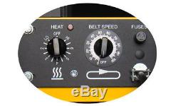 Vastex D-100 Conveyor Dryer 18 Belt for Screen Printing