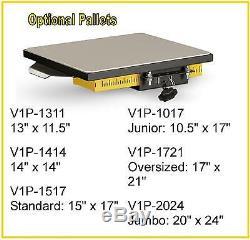Vastex V-1000 Professional Screen Printing manual Press 6 Station and 6 Color