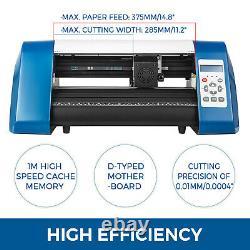 Vinyl Cutter Plotter Cutting 14 Sign Maker 3 Blades Usb Port Contour Cut New