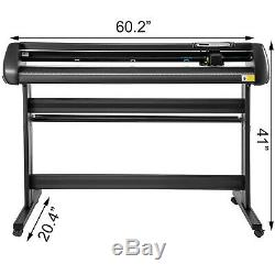 Vinyl Cutter Plotter Cutting 53 Sign Maker 3 Blades Sticker Print Making Kit