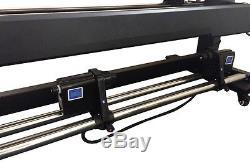 Vinyl Express V 1650mm 65 Large Wide Format Printer DX5 ECO Solvent+RIP, 1440dpi