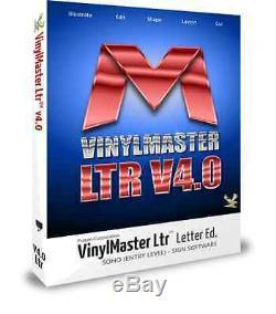 VinylMaster Letter Ltr VML Vinyl Cutter Software Crossgrade with CD