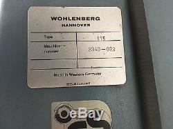 Wohlenberg 115 Cutter