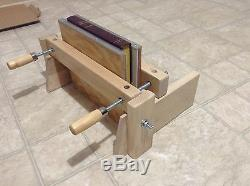 Wooden book press, Book press stand, Finishing Boards, Bookbinding press